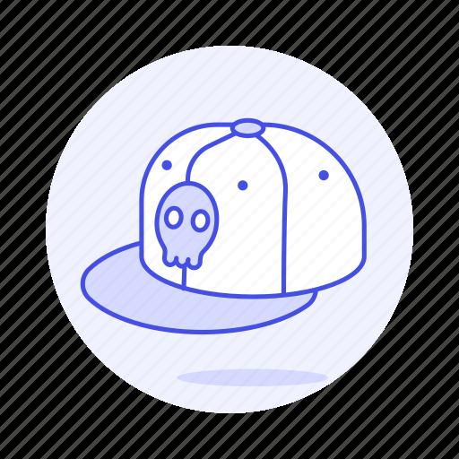 1, cap, crane, design, genre, hiphop, music, skull icon
