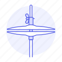 cymbal, drum, instruments, music, percussion icon