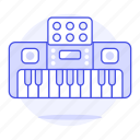 keyboard, instruments, digital, music, electronic, electric, piano
