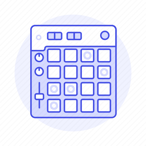 beat, controller, digital, electronic, instruments, maker, music, pad icon