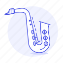 2, brass, instruments, music, reed, saxophone, wind, woodwind icon