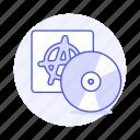 genre, music, phonograph, punk, record, rock, vinyl icon
