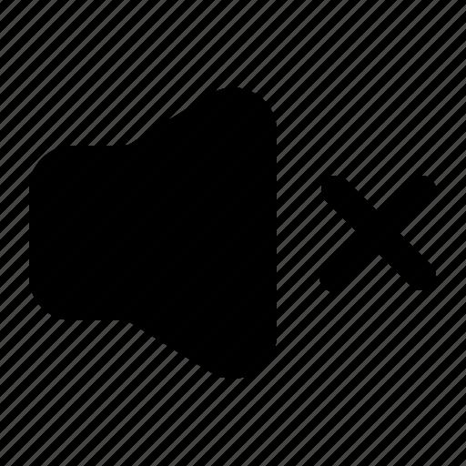 audio, music, mute, sound, volume icon