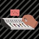 settings, hand, gestures, mixing, engineering, dj, music