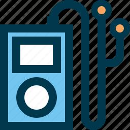 audio, ipod, music, play, player, playlist icon