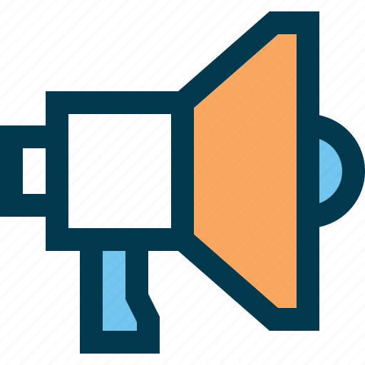 ad, marketing, megaphone, promo, speaker, voice icon