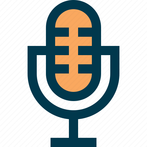 microphone, mike, record, sound, speak, voice icon