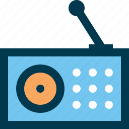 audio, fm, music, radio icon