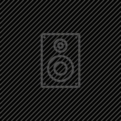 music, musik, play, player, sound, speaker icon