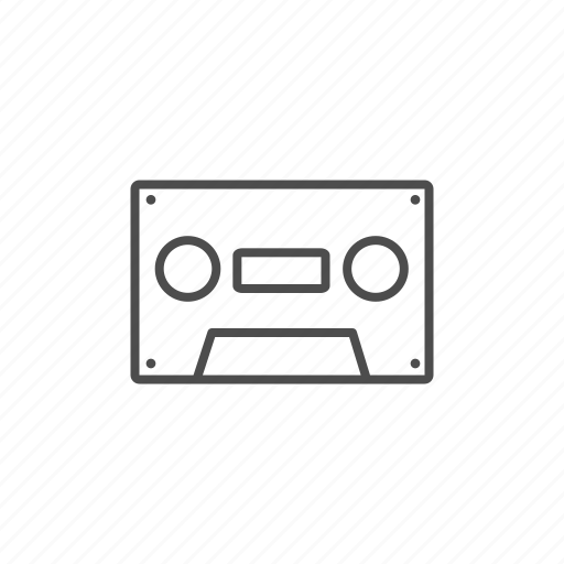 cassette, music, musik, record icon