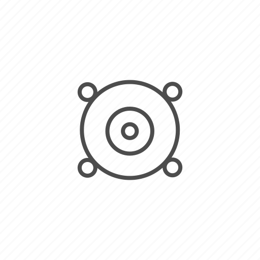 music, musik, sound, speaker, volume icon