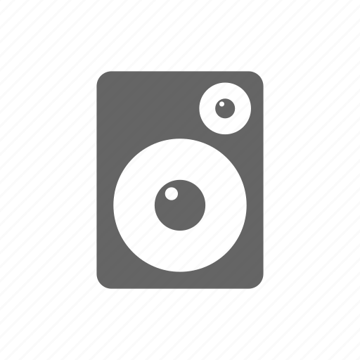 music, player, speaker icon