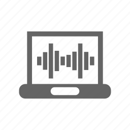 equalizer, music, pc, wave icon