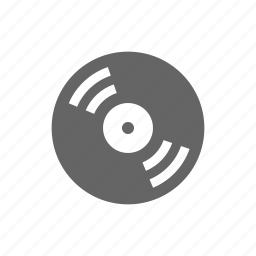 audio, disk, music, sound, vinil icon