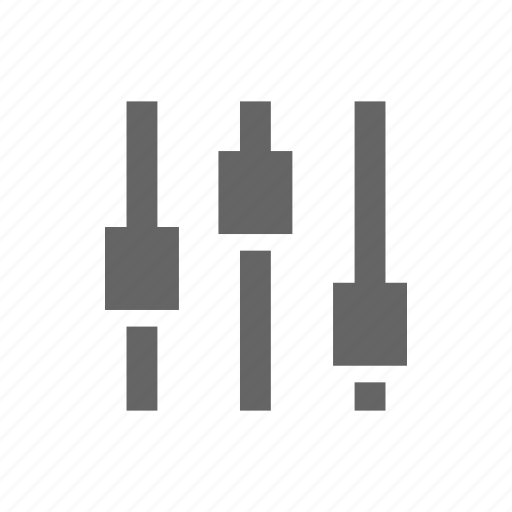 audio, equalizer, level, music, sound icon