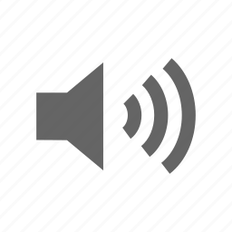 music, play, speaker icon