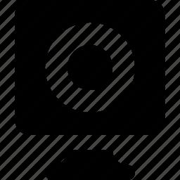 deskotp, speaker icon