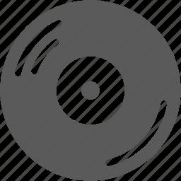 record, turntable, vinyl icon