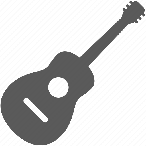 guitar, instrument, song icon
