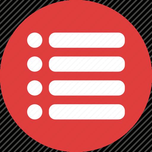 checklist, interface, list, menu, music list icon