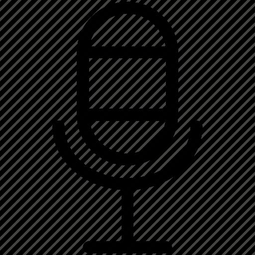 mic, microphone, speak, speech icon