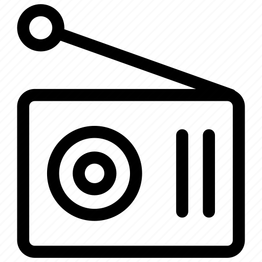 radio, radio fm, radio icon icon