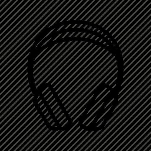 audio, headphone, music icon