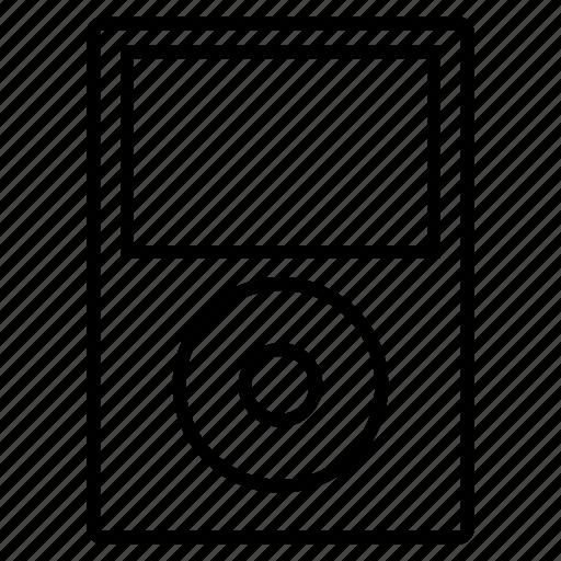 digital, ipod, music, player icon