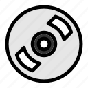 audio, music, record, vintage, vinyl icon