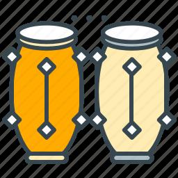 conga, entertainment, instrument, music, tribal icon