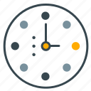 clock, duration, entertainment, time icon