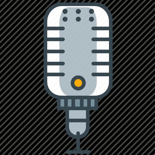 entertainment, karaoke, microphone, music, record, sound icon