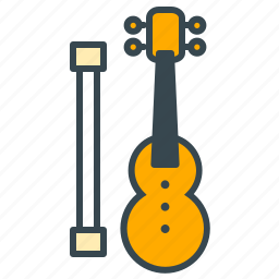 classical, entertainment, instrument, music, violin icon