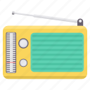 antenna, instrument, instruments, musical, network, radio, signal icon