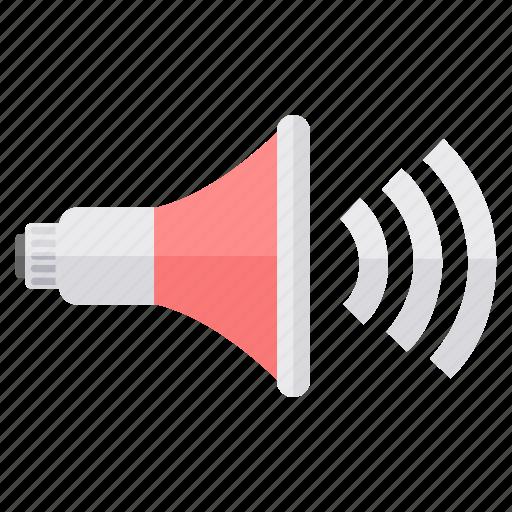 audio, music, player, sound, speaker, volume icon