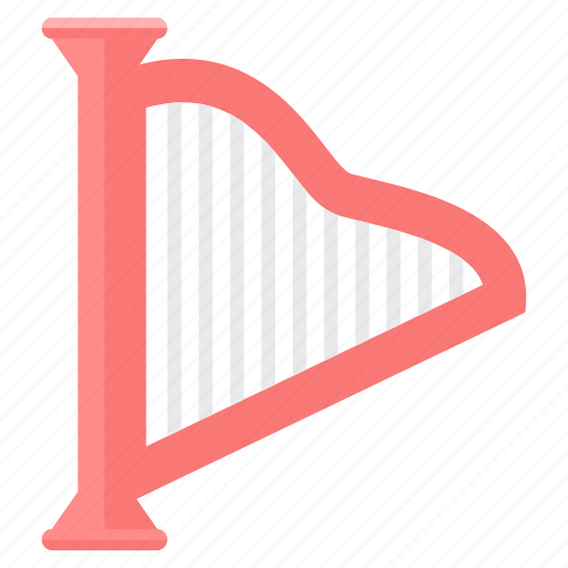 audio, harp, instrument, instruments, music, musical icon