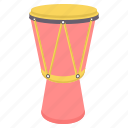 instrument, instruments, music, musical, sound, tabor, tom tom icon