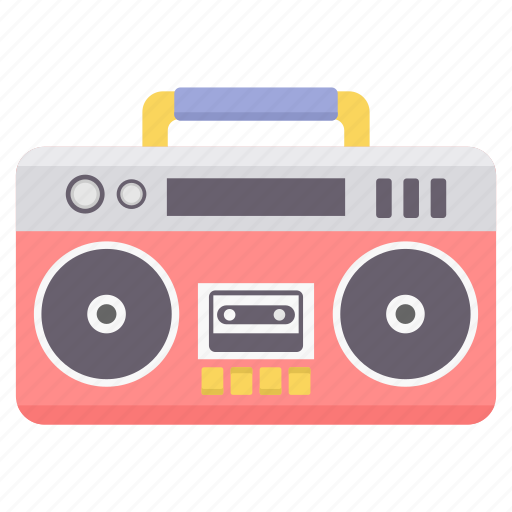audio, cassette, instrument, recorder, sound, stereo, tape icon