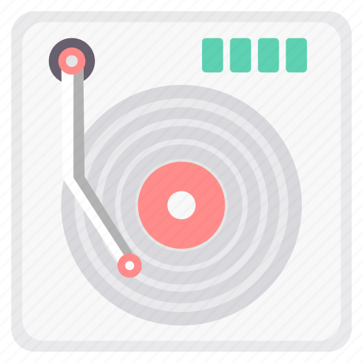 dj, instrument, instruments, musical, player, song, songs icon
