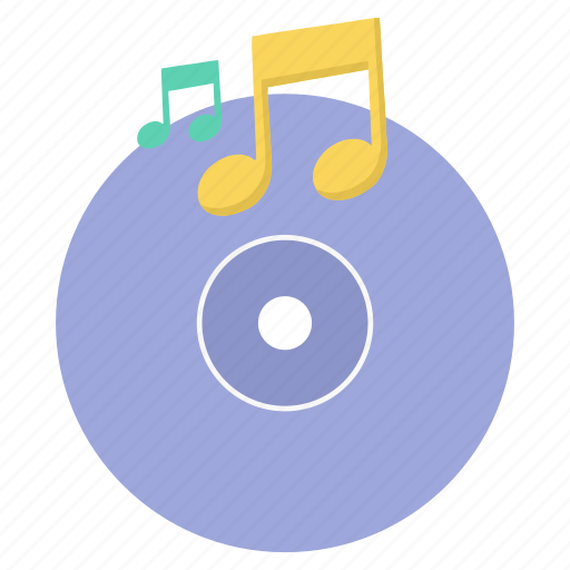 cd, disc, disk, dvd, musical, playing, song icon