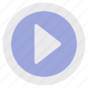 audio, media, music, pause, player, stop, video icon