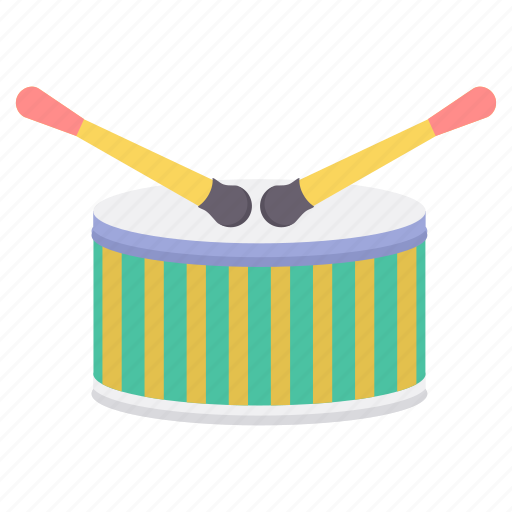 drum, instruments, music, musical, player icon