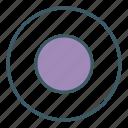 audio, circle, media, record, ui, video icon