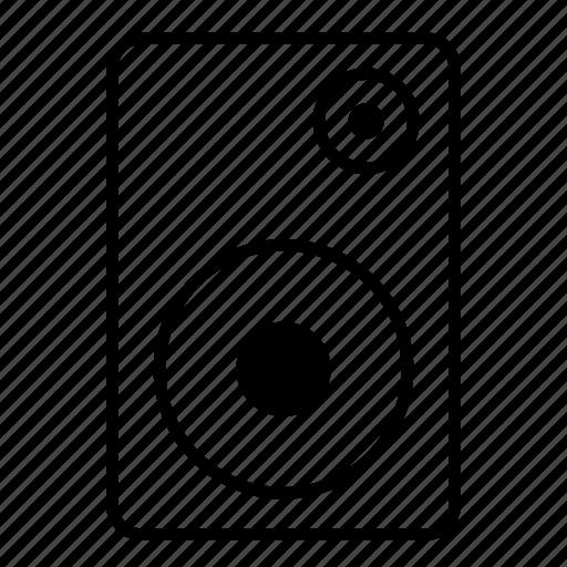 minimalist, music, sound, speaker icon