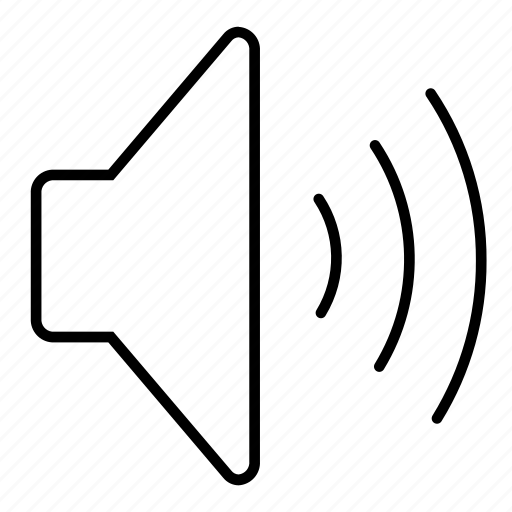 hi, minimalist, multimedia, music, sound, speaker, ui, vol, volume icon
