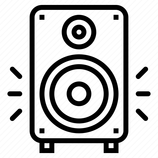 bass, sound, speaker, subwoofer icon