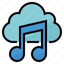 cloud, music, play, song