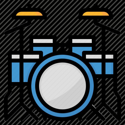 Drum, instruments, music, musical icon - Download on Iconfinder