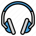 audio, earphones, headphones, sound icon