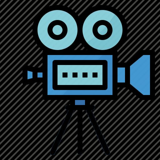 Camera, film, movie, player, video icon - Download on Iconfinder